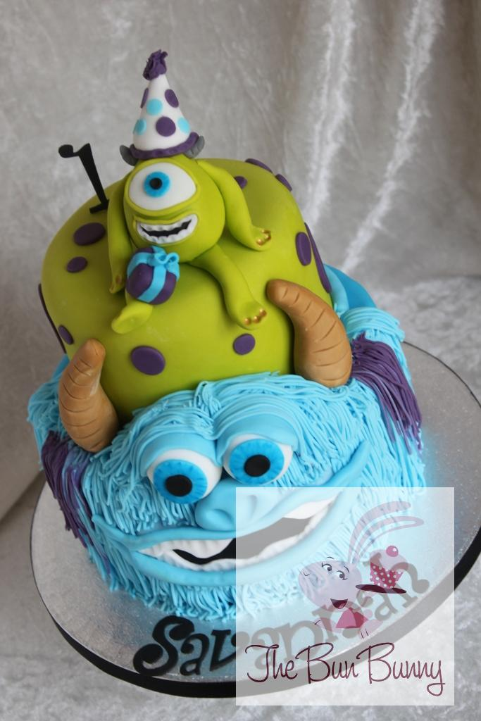 Monsters Inc Birthday Cake The Bun Bunny