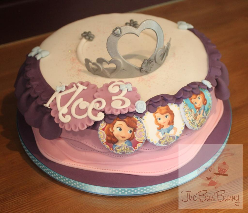 Princess Tiara Birthday Cake The Bun Bunny
